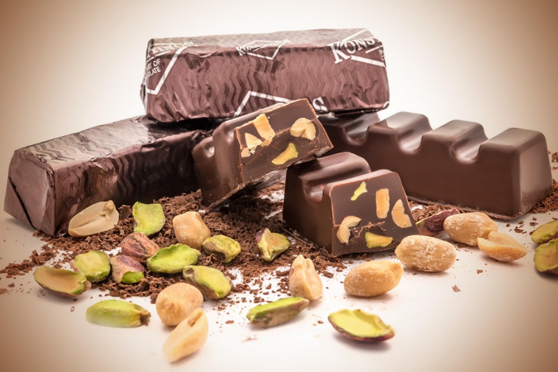 Dark chocolate pistachio