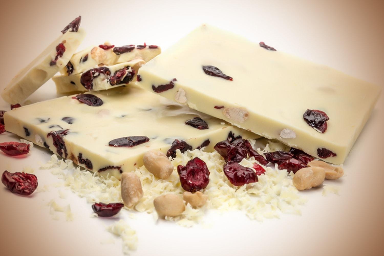 Λευκή φιστίκι - White chocolate peanut